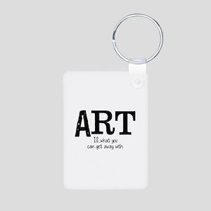 ART is... Aluminum Photo Keychain