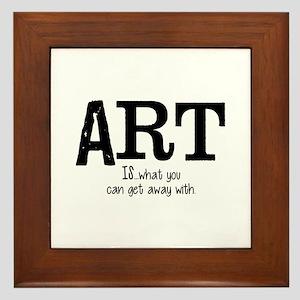 ART is... Framed Tile
