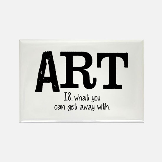 ART is... Rectangle Magnet