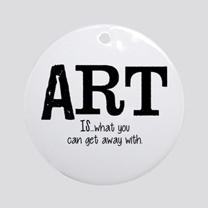 ART is... Ornament (Round)