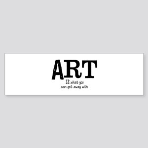 ART is... Sticker (Bumper)