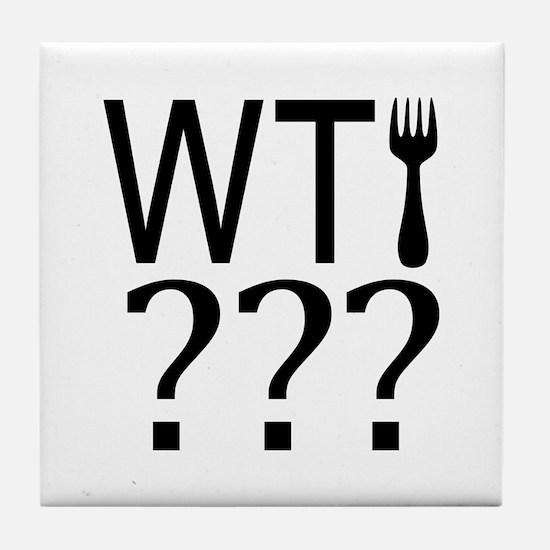 WTFork? Tile Coaster