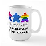 Bisexual Flag LGBTQ+ Design for Light Shirts Mugs