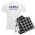 Bisexual Flag LGBTQ+ Design for Light Shirts Pajam