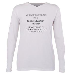 67359ce161d Teacher Plus Size Long Sleeve T-Shirts - CafePress