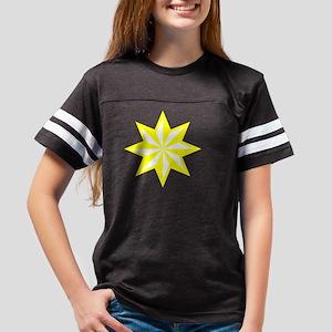 Yellowstar10x1001t Youth Football Shirt