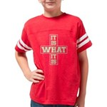 IIWIINWHV00 Youth Football Shirt