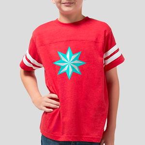 CyanStar10x1001T Youth Football Shirt