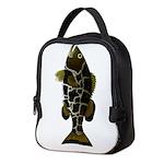 Black Grouper Neoprene Lunch Bag