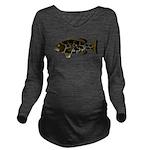 Black Grouper c Long Sleeve Maternity T-Shirt
