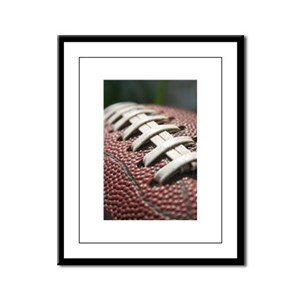 Football First Day of School 2013 017 Framed Panel