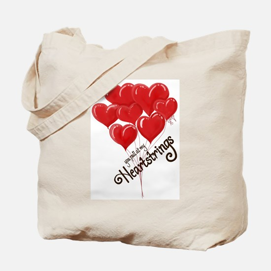 You pull at my Heartstrings Tote Bag