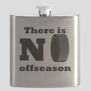 No Hockey Offseason Flask