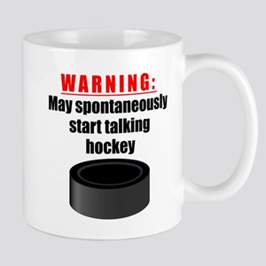 Spontaneous Hockey Talk Mugs