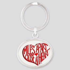 Miles Apart, Close at Heart Keychains
