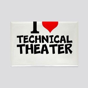 I Love Technical Theater Magnets