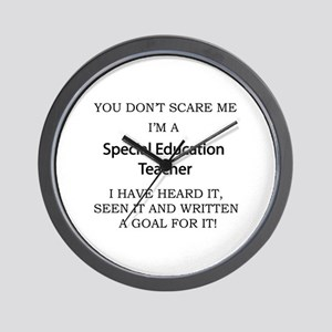 Special Education Teacher Wall Clock