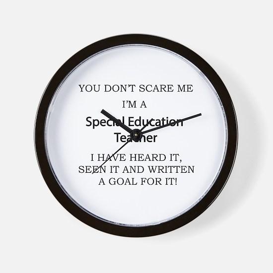 Special Education Teacher Wall Clock