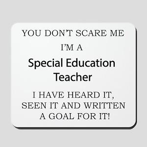 Special Education Teacher Mousepad