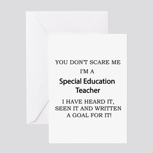 Special Education Teacher Greeting Cards