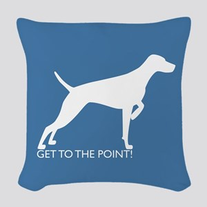 Cushion - To The Point - On Cornflower