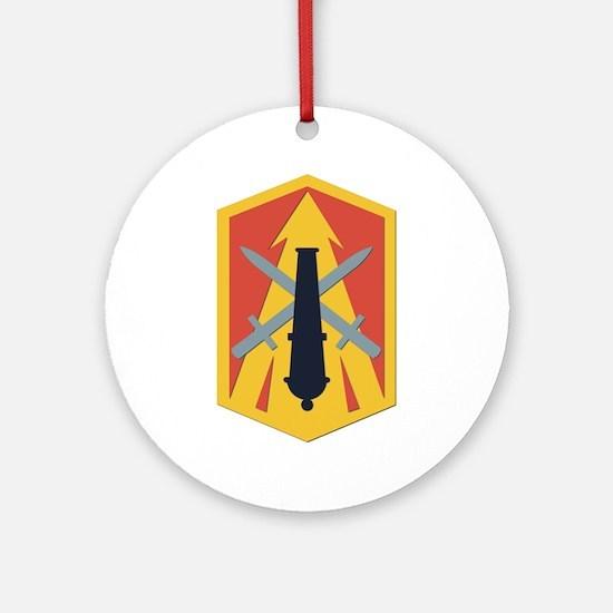SSI - 214th Fires Brigade Ornament (Round)