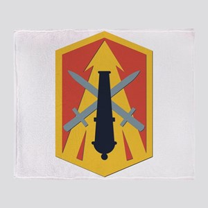 SSI - 214th Fires Brigade Throw Blanket