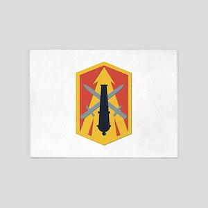 SSI - 214th Fires Brigade 5'x7'Area Rug