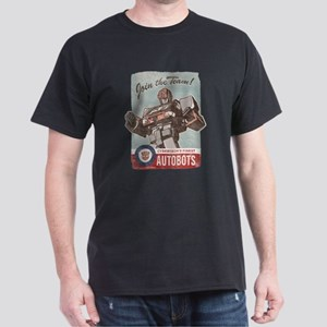 Cyberton's Finest AutoBots Dark T-Shirt