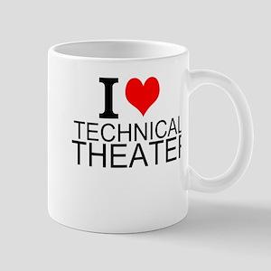 I Love Technical Theater Mugs