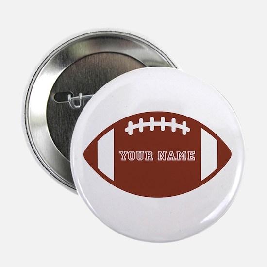 "Custom name Football 2.25"" Button (100 pack)"