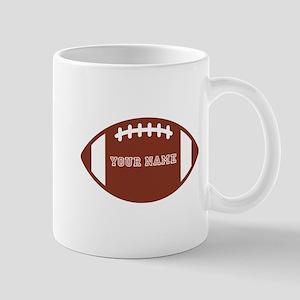 Custom name Football Mug