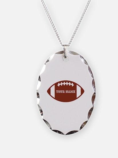 Custom name Football Necklace