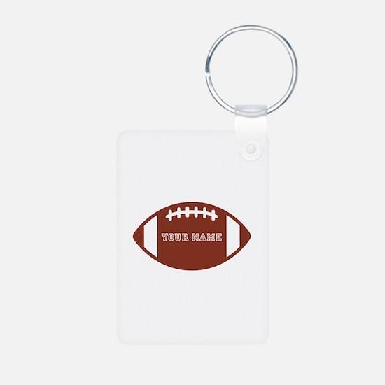 Custom name Football Keychains