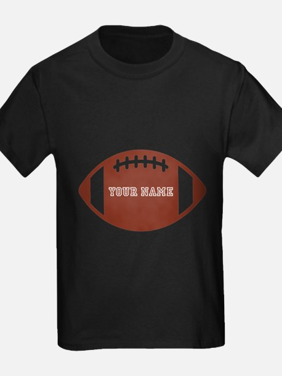 Custom name Football T