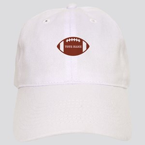 Custom name Football Cap