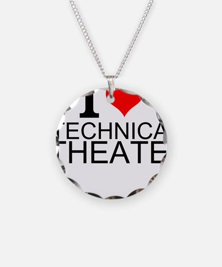 I Love Technical Theater Necklace
