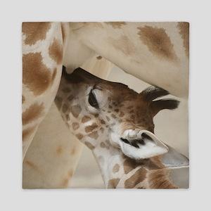 Giraffe003 Queen Duvet