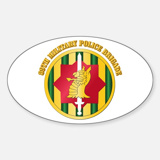SSI - 89th Military Police Bde with Text Decal