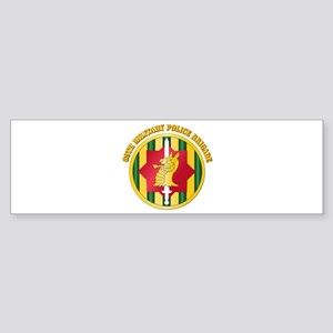 SSI - 89th Military Police Bde with Text Sticker (