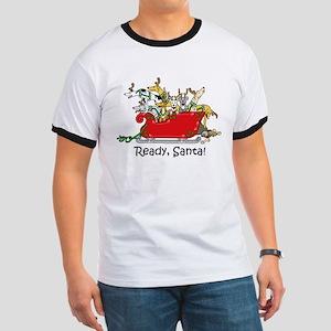 """""""Ready, Santa!"""" T-Shirt"""