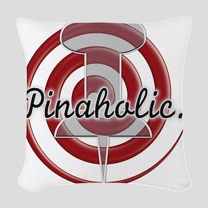 Pinaholic Woven Throw Pillow