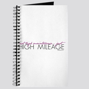 Just High Mileage Journal