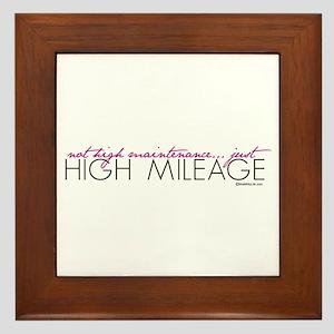 Just High Mileage Framed Tile