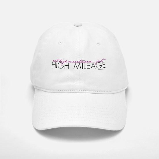 Just High Mileage Baseball Baseball Cap