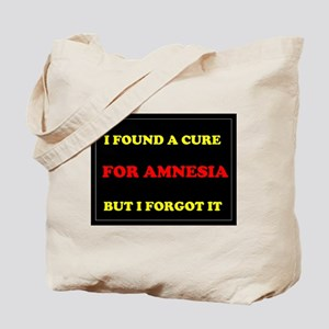 CURE FOR AMNESIA Tote Bag