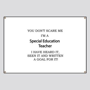 Special Education Teacher Banner
