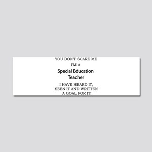 Special Education Teacher Car Magnet 10 x 3