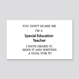 Special Education Teacher Rectangle Car Magnet