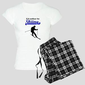 Id Rather Be Skiing pajamas